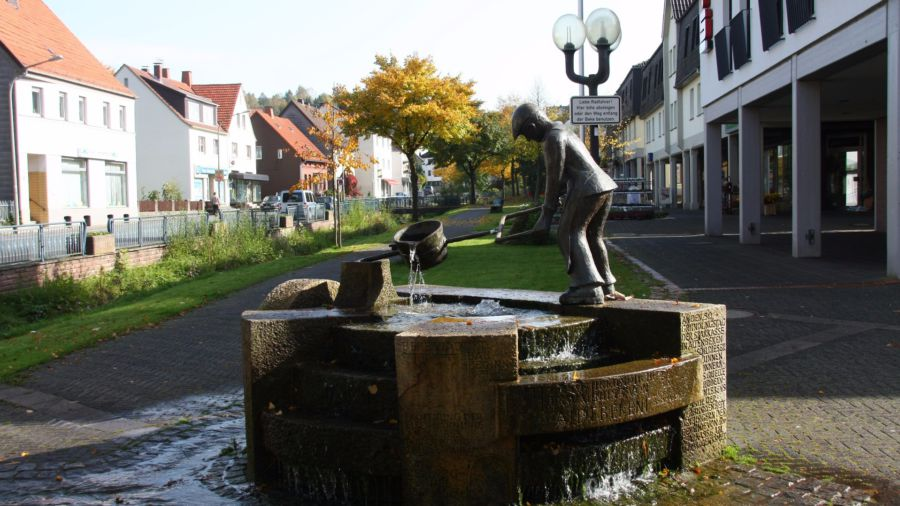 Eisengießer-Brunnen in Altenbeken